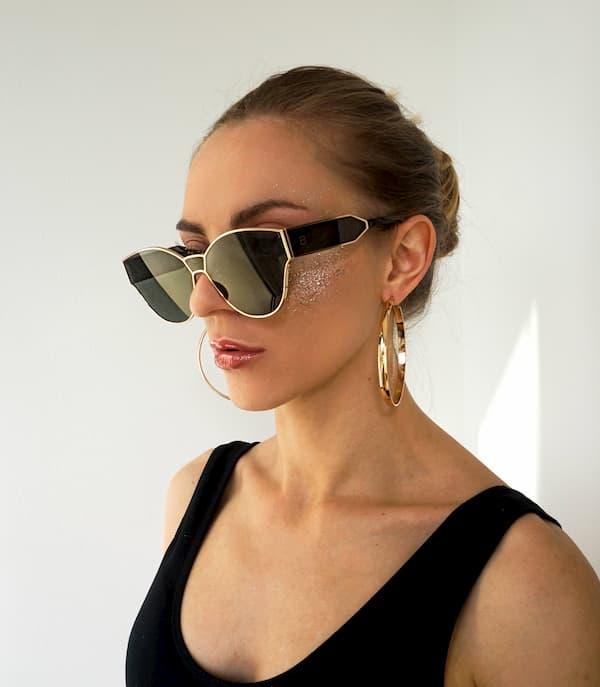 Blenciaga green sunglasses 2019 sale buy