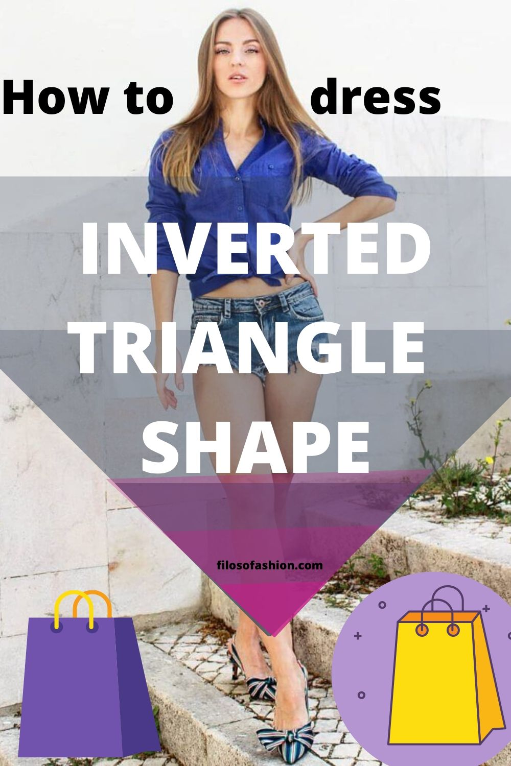 Inverted triangle body shape how to dress