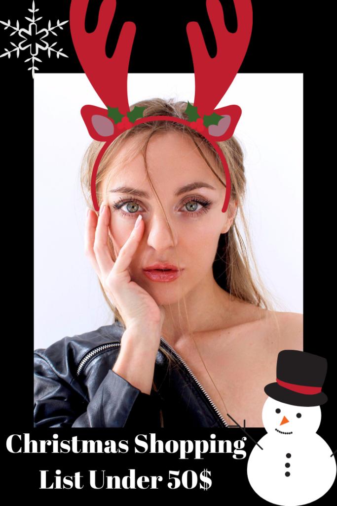 Under 50$ Christmas Gift Ideas