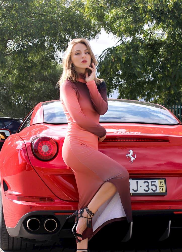 Drive a Ferrari in Lisbon