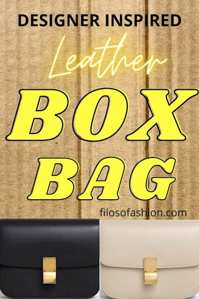 leather box bag