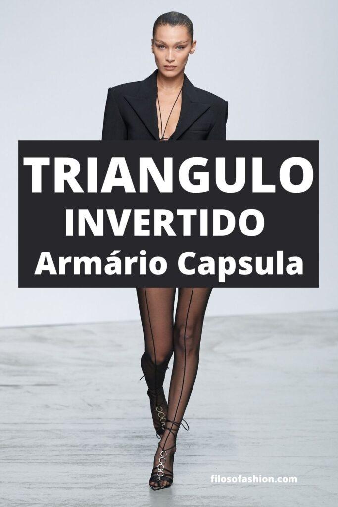 corpo triângulo invertido