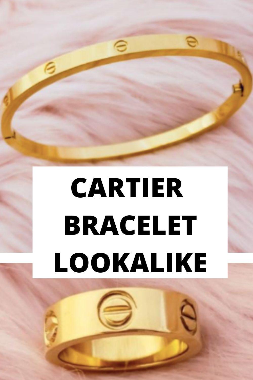 CARTIER BRACELET LOOKALIKE