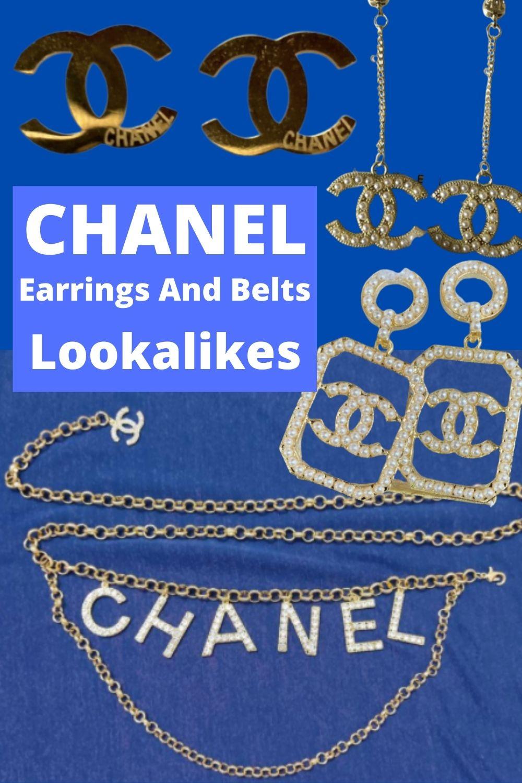 chanel earrings dupe