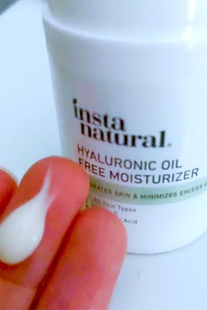 INSTANATURAL Hyaluronic Oil Free Moisturizer