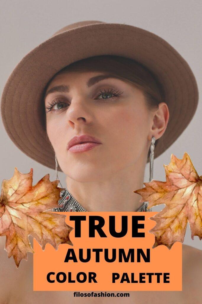 true autumn color palette