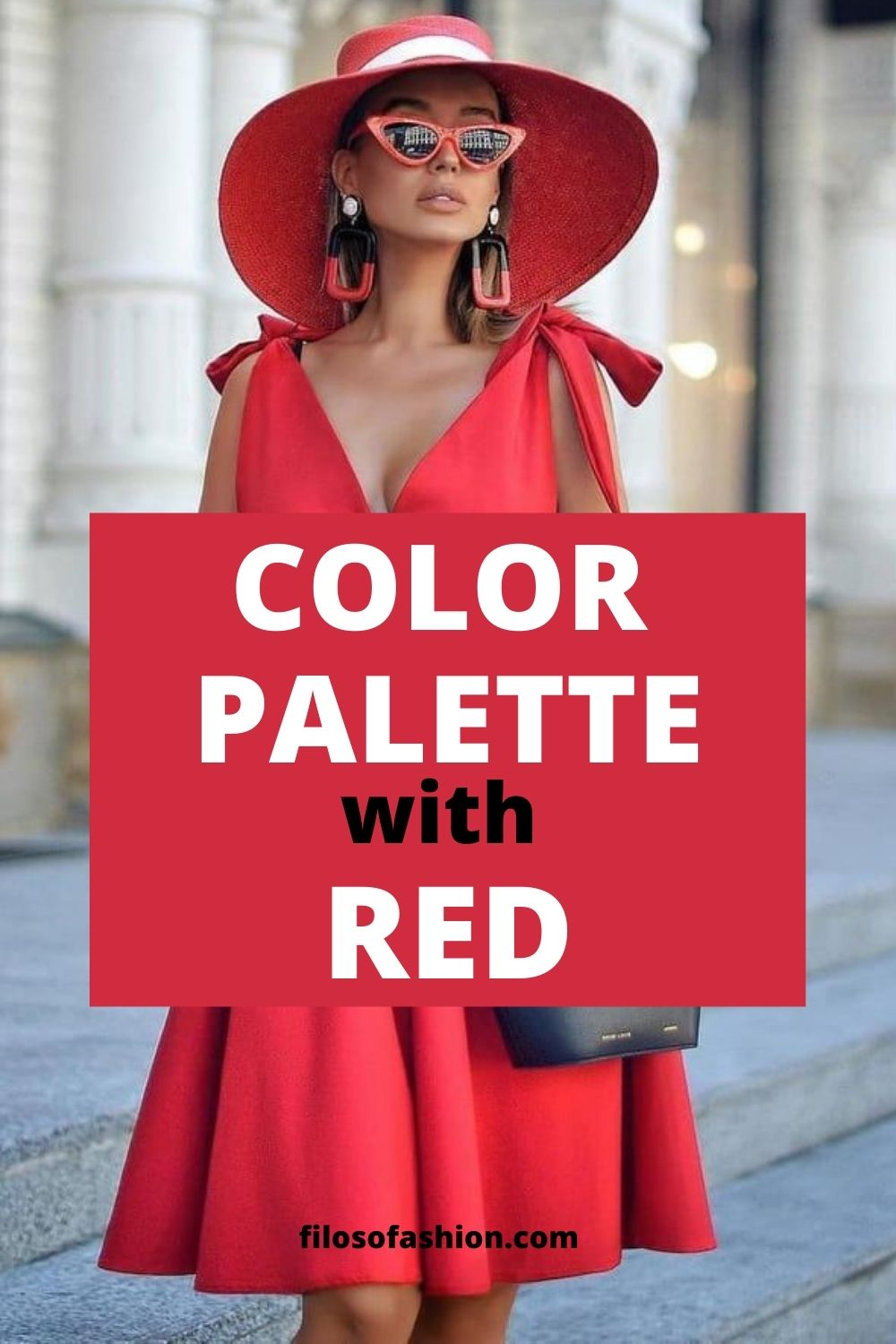 Color Palette With Red