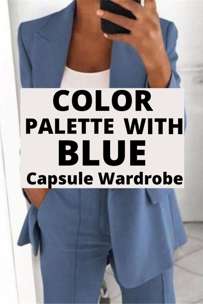 Color Palette With Blue