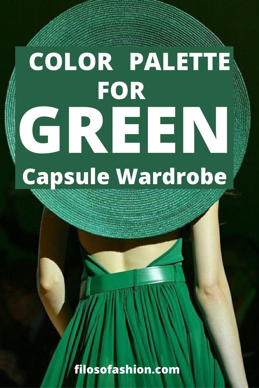 Color Palette For Green