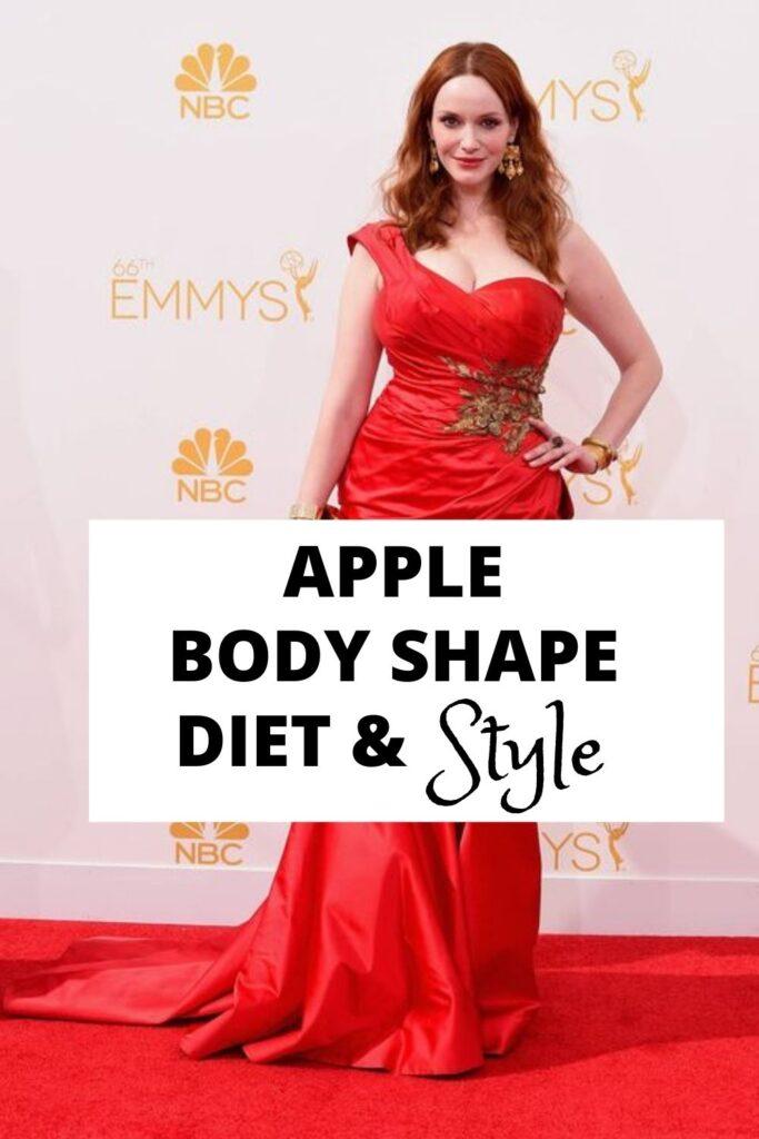 how to reverse apple body shape