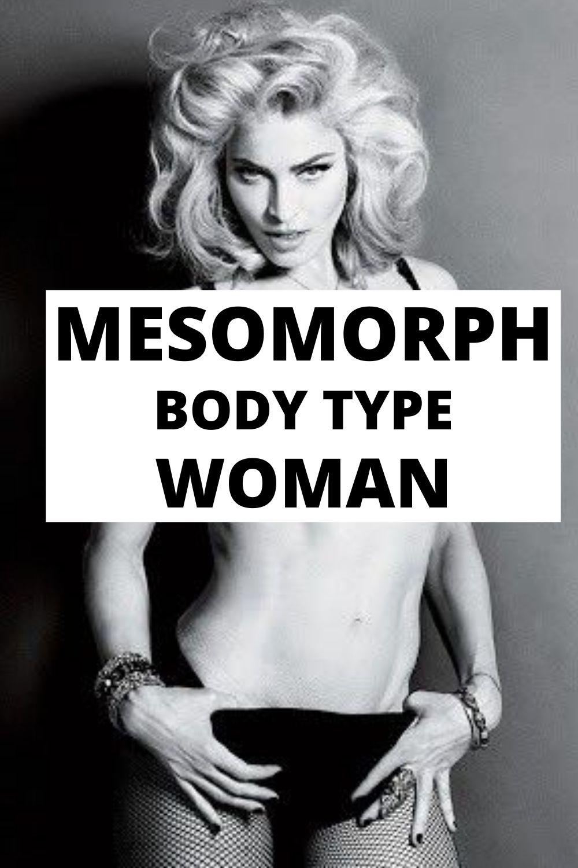mesomorph body type woman